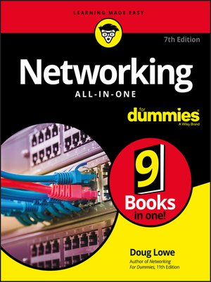 cover image of Networking All-in-One For Dummies