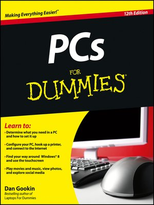 cover image of PCs For Dummies