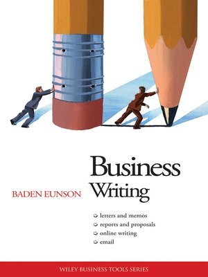 cover image of Business Writing