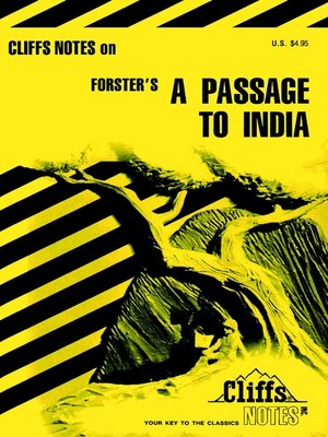 cover image of CliffsNotes on Forster's A Passage To India