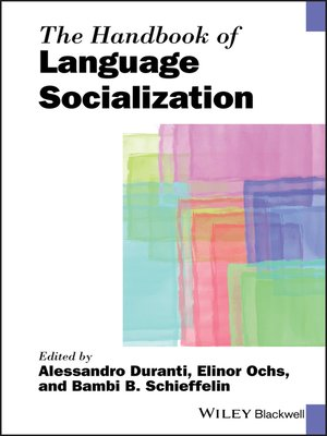 cover image of The Handbook of Language Socialization