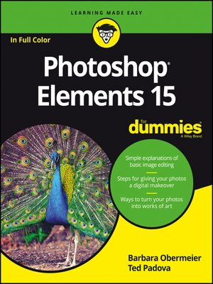 cover image of Photoshop Elements 15 For Dummies