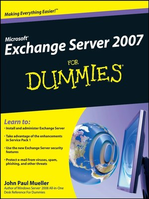 cover image of Microsoft® Exchange Server 2007 For Dummies®