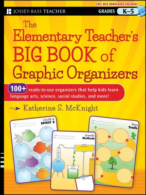 cover image of The Elementary Teacher's Big Book of Graphic Organizers, K-5