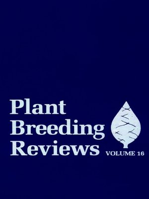 cover image of Plant Breeding Reviews