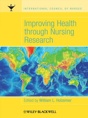 cover image of Improving Health through Nursing Research