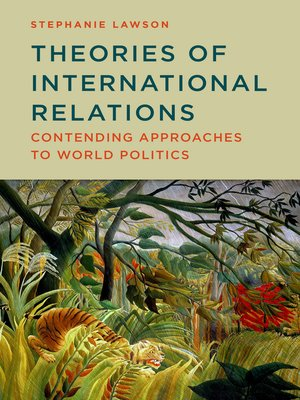 cover image of Theories of International Relations