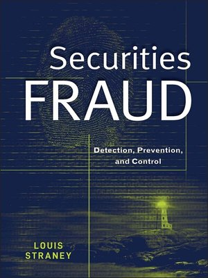 cover image of Securities Fraud