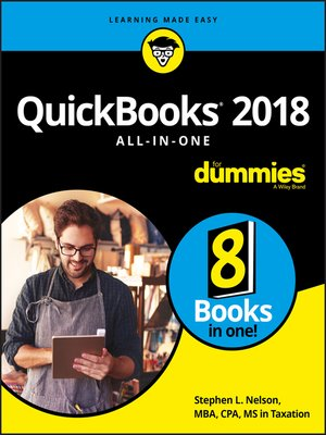 cover image of QuickBooks 2018 All-in-One For Dummies