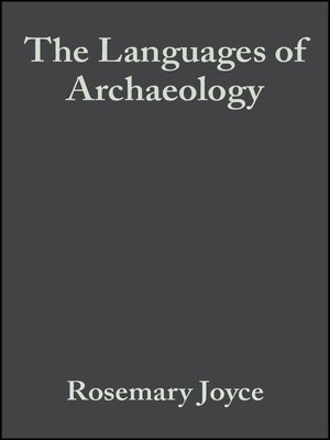 cover image of The Languages of Archaeology