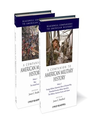 cover image of A Companion to American Military History