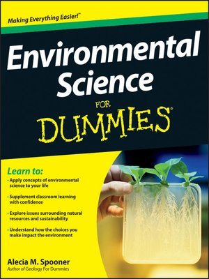cover image of Environmental Science For Dummies