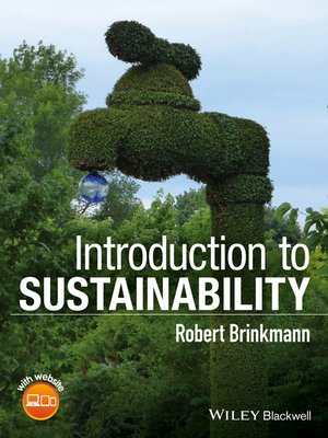 cover image of Introduction to Sustainability