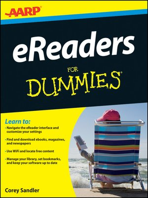 cover image of AARP eReaders For Dummies