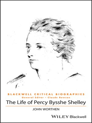 cover image of The Life of Percy Bysshe Shelley