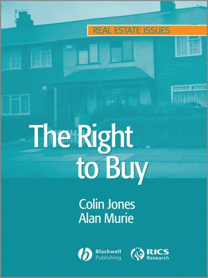 cover image of The Right to Buy