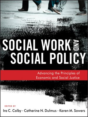 cover image of Social Work and Social Policy