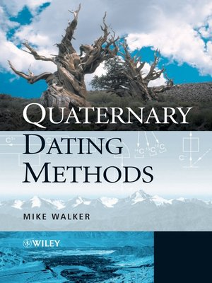 cover image of Quaternary Dating Methods