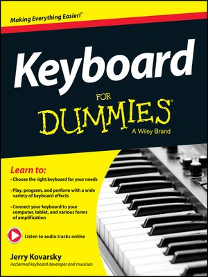 cover image of Keyboard For Dummies