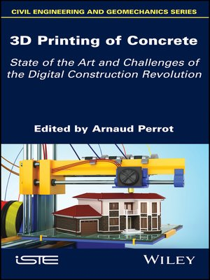 cover image of 3D Printing of Concrete