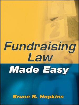 cover image of Fundraising Law Made Easy