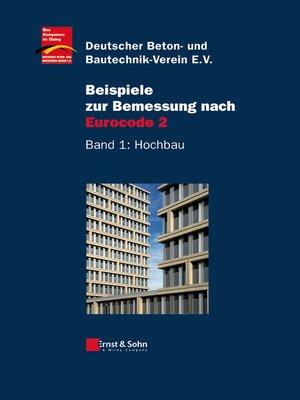cover image of Beispiele zur Bemessung nach Eurocode 2
