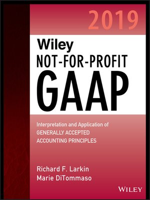 cover image of Wiley Not-for-Profit GAAP 2019