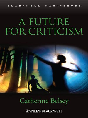 cover image of A Future for Criticism