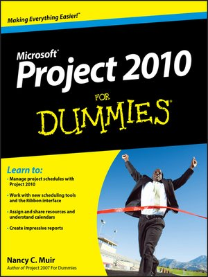 cover image of Project 2010 For Dummies