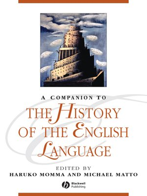cover image of A Companion to the History of the English Language