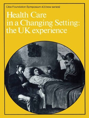 cover image of Health Care in a Changing Setting