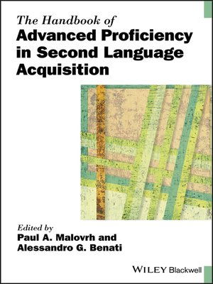 cover image of The Handbook of Advanced Proficiency in Second Language Acquisition