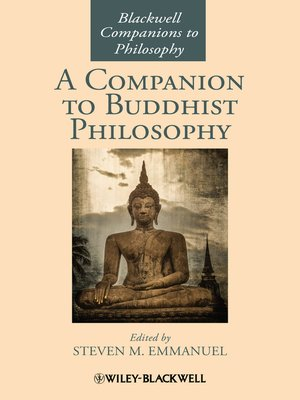 cover image of A Companion to Buddhist Philosophy