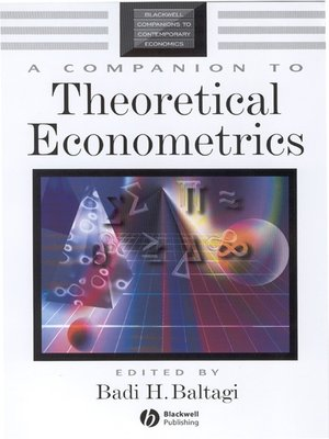cover image of A Companion to Theoretical Econometrics