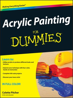 cover image of Acrylic Painting For Dummies