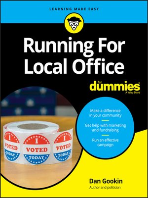 cover image of Running For Local Office For Dummies