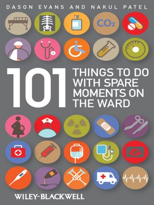 cover image of 101 Things to Do with Spare Moments on the Ward