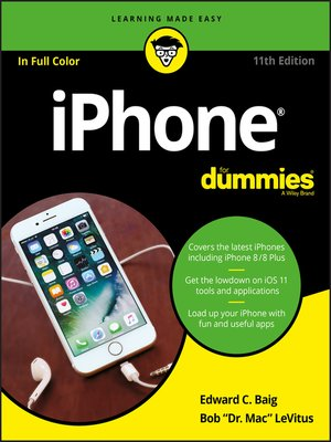 iphone instructions for dummies