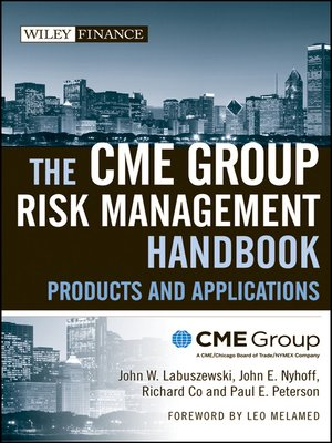 cover image of The CME Group Risk Management Handbook