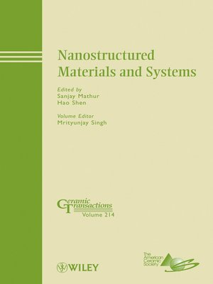 cover image of Nanostructured Materials and Systems