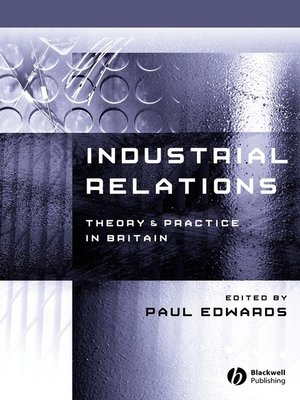 cover image of Industrial Relations
