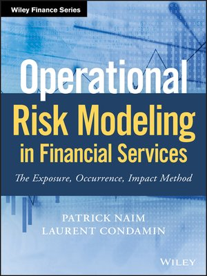 cover image of Operational Risk Modeling in Financial Services