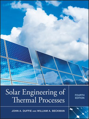 cover image of Solar Engineering of Thermal Processes