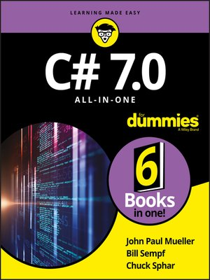 cover image of C# 7.0 All-in-One For Dummies