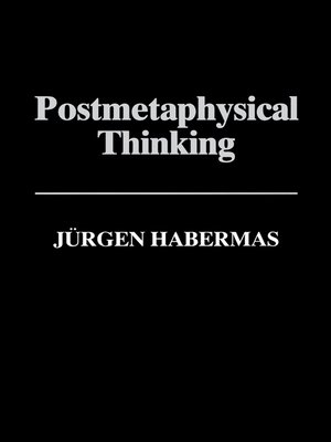 cover image of Postmetaphysical Thinking