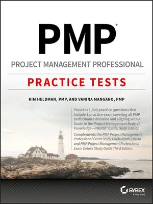 cover image of PMP Project Management Professional Practice Tests