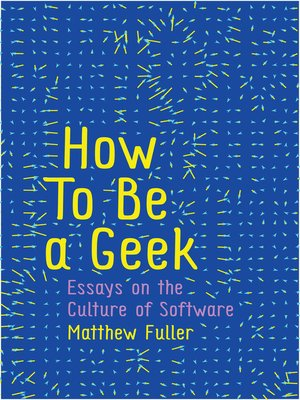 cover image of How to Be a Geek