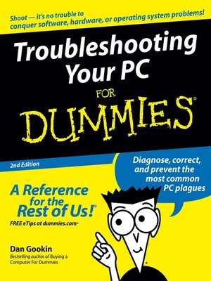cover image of Troubleshooting Your PC For Dummies
