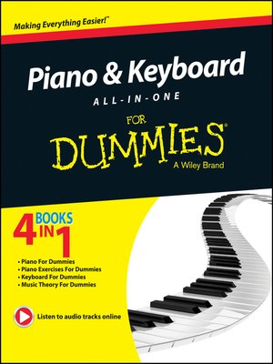 cover image of Piano and Keyboard All-in-One For Dummies