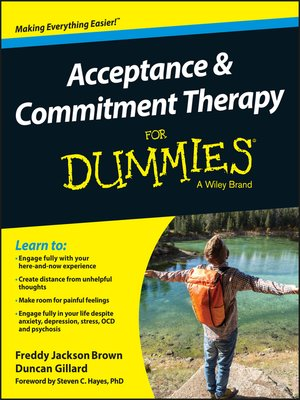 cover image of Acceptance and Commitment Therapy For Dummies